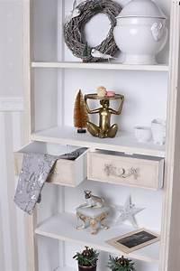 Küchenregal Landhausstil Weiß : vintage regal b cherregal antik weiss k chenregal shabby ~ A.2002-acura-tl-radio.info Haus und Dekorationen