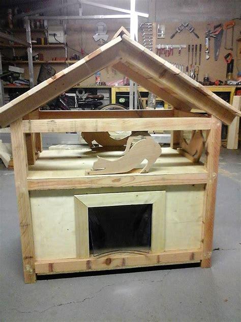 Diy Wood Pallet Cat House  Wood Pallet Furniture