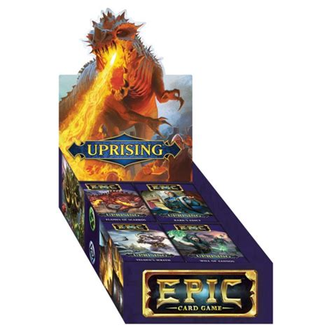 White Wizard Games WWG312 Epic Uprising Card Game ...