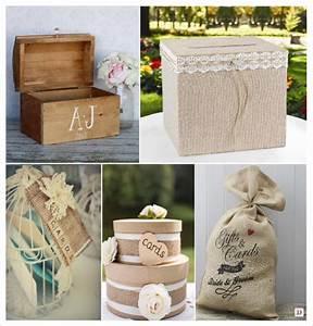 Urne Mariage Champêtre : decoration mariage rustique vive le bois ~ Melissatoandfro.com Idées de Décoration