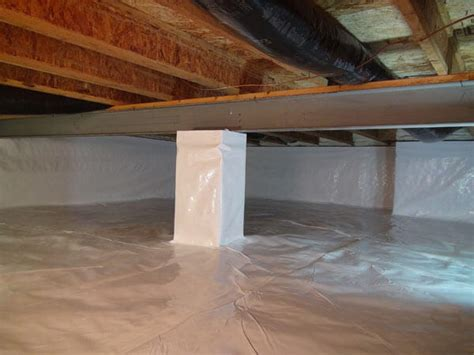 waterproofing basements with dirt floors walls vapor barrier for basement floor about crawl space encapsulation