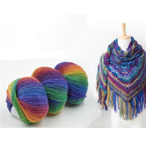 balls  melange wool yarn  hand knitting colorful