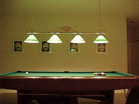 hanging pool table lights on winlights deluxe