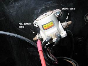 Mustang Mr  Mustang Battery Cable Set  1967  Installation