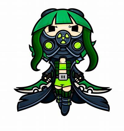 Sweet Character Sins Kawaii App Enemies Project