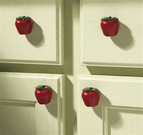 country apple decorations for kitchen country apple decor kitchen drawer pulls awesome 8419