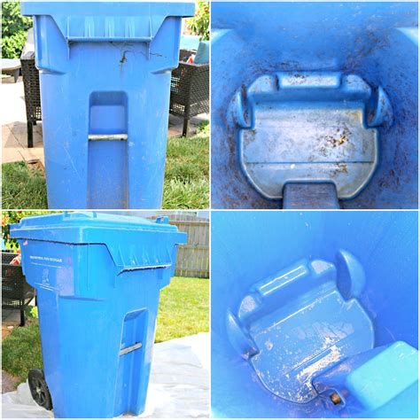 clean outdoor garbage cans naturally ehow