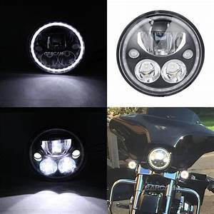 7 U0026quot  Led Daymaker Headlight For Yamaha Road Star Midnight