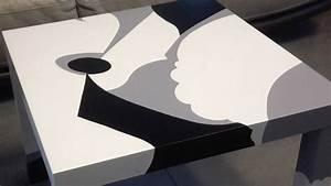 Table Basse Salon Ikea : relooking d 39 une table basse lack ~ Teatrodelosmanantiales.com Idées de Décoration