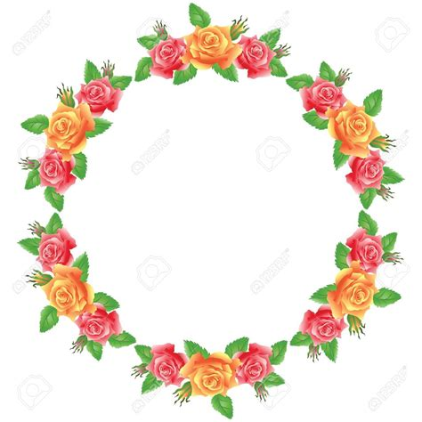 truck light floral clipart flower frame free collection