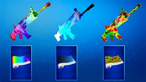 weapon skins rewards  fortnite battle royale