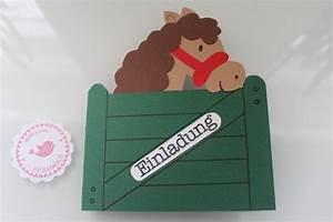 Pinata Basteln Pferd : einladungskarten kindergeburtstag pferde von bagiolo auf invitation pinterest ~ Frokenaadalensverden.com Haus und Dekorationen