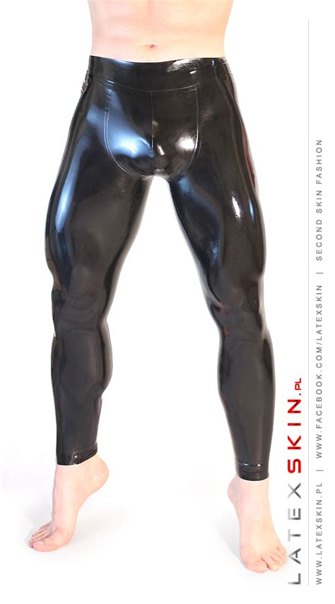 pouch leggings  latexskin