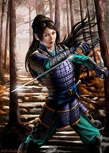 Female Samurai Warrior | Samurai Girls | Pinterest ...
