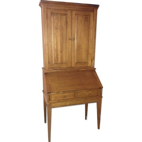 Ethan Allen Desk With Hutch by Pin By Erin Christensen On Shopping For Dining Storage