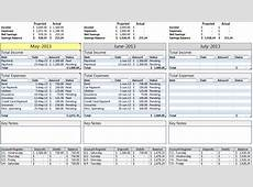 Personal Budget Template for Excel Robert McQuaig Blog