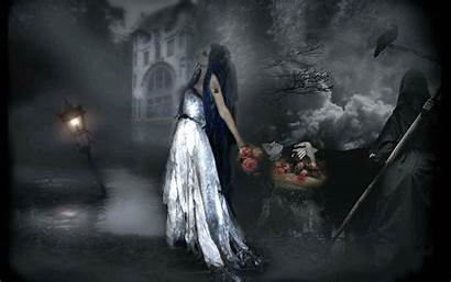 Gothic Dark Fantasy Artwork Desktop Background Wallpapers