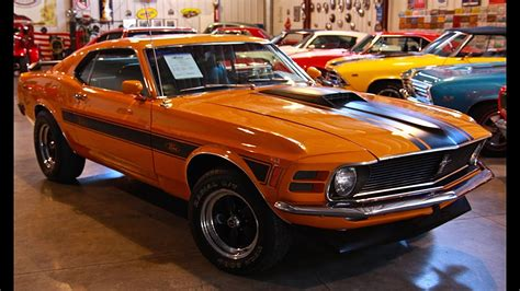 one classic cars sold 1970 mustang special mach 1 passing motors classic cars