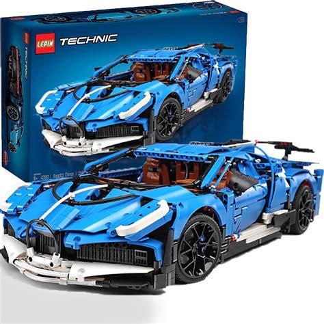 Лего техник 42083 бугатти широн обзор / lego technic bugatti chiron review. Technic Bugatti Chiron ( Lego MOC ) Blue Race Car Building blocks SHIPPING WORLDWIDE DHL
