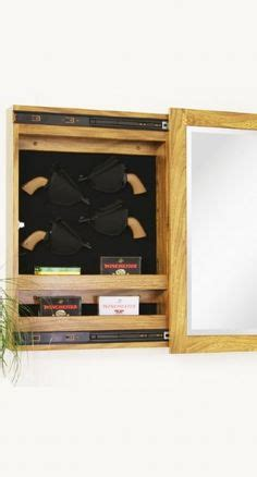 Magnetic Locks For Gun Cabinets by Gun Cabinets On Solid Oak Magnetic Lock And Guns