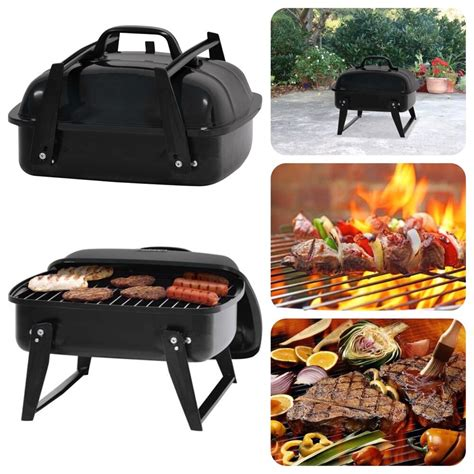 Backyard Bbq Restaurant by Portable Small Charcoal Grill 12 Quot Barbecue Cing Patio