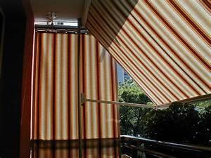 markise balkon ohne bohren das beste aus wohndesign und With markise balkon mit tapete blumenranke