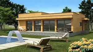 Prix Kit Maison Bois : cuisine maison moderne bois en kit chaios construction ~ Premium-room.com Idées de Décoration