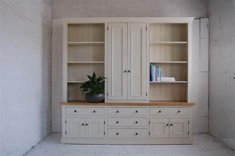 Shop Cupboards by Bespoke Bookcase Cupboard Eastburn Country Furniture