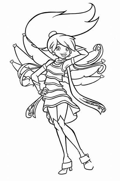 Friends Coloring Pages Angel Angels Prince Eric
