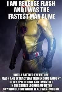 CW Reverse Flash Meme