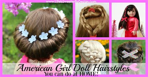 American Girl Doll Hairstyles Round Up Images Of The Latest Hairstyles Med Hair Styles For Face Shapes Girls With Long School Best Short Thick Natural Curly Kid Cool Easy
