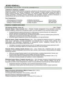 entry level advisor resume skill resume financial planner resume sle free financial advisor resume format financial
