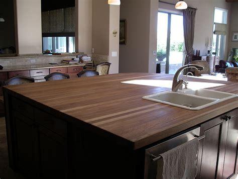 White Oak Wood Countertop in Las Vegas, Nevada