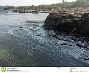 Wall, Rock, Estuary, River, Stream, Fresh, Nature, Bedrock, Stock, Image