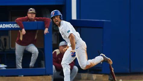 maldonados home run helps florida clinch series arkansas