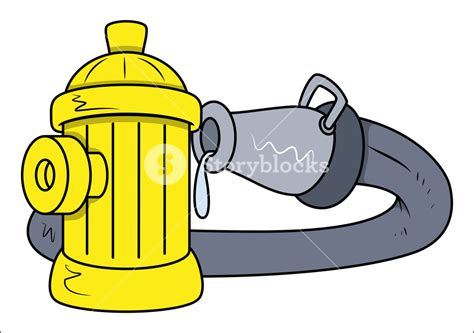 Hydrant Clipart Hydrant Rescue Water Pipe Vector Illustrations Royalty