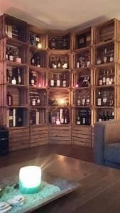 Etagere rangement whisky spiritueux meuble tv deco for Meuble whisky