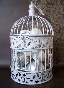 Cage Oiseau Deco : la cage oiseaux d corative tendance shabby chic ~ Teatrodelosmanantiales.com Idées de Décoration