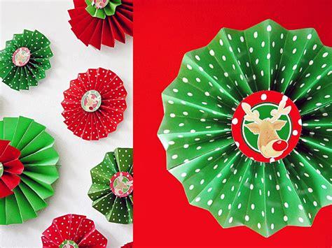 folded paper rosettes hgtv