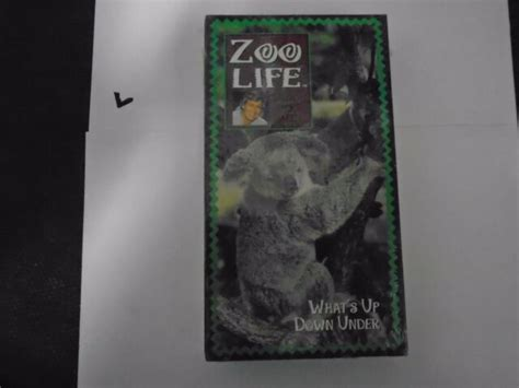 Zoo Life With Jack Hanna What's up Down Under VHS Tape 90s ...