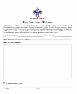 9 sample eagle scout recommendation letter templates With letter of recommendation for eagle scout template