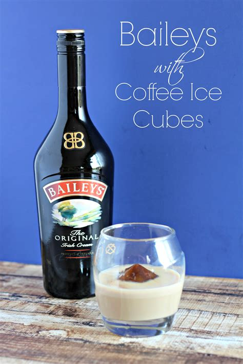Try all of our irresistible. Baileys with Coffee Ice Cubes - Living a Sunshine Life