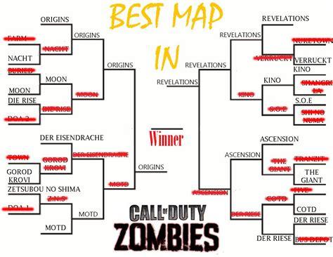 zombies map duty call ever final tournament bracket round semi