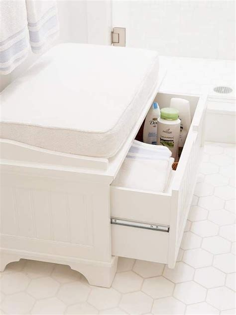small white storage 25 bathroom bench and stool ideas for serene seated