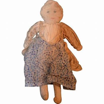 Cloth Rag Doll Antique Unusual