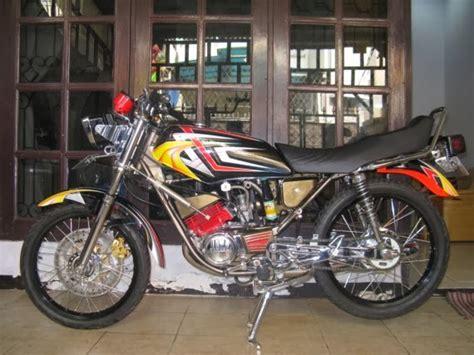 Modif Rx Spesial Warna Hitam Emas by Gambar Motor Keren 14 Gambar Modifikasi Yamaha Rx King