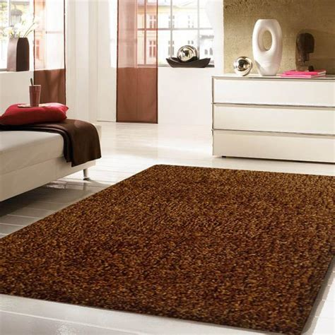 thick plush area rugs tufted 2tone brown thick plush shag area rug rug