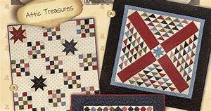 Heartspun Quilts ~ Pam Buda: Tokens of the Past: Attic ...