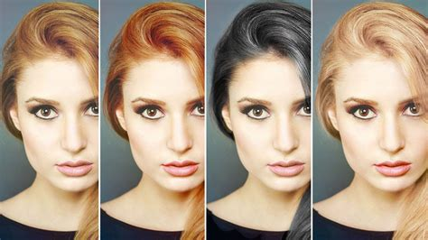 how to change hair color how to change hair color in photoshop lensvid comlensvid