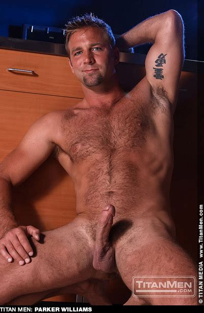 Parker Williams Hairy Hunk American Gay Porn Star Lucas